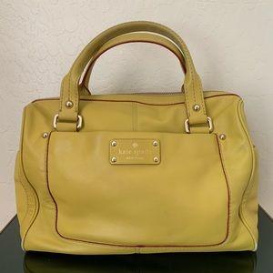 Kate Spade ♠️ Yellow Satchel Handbag